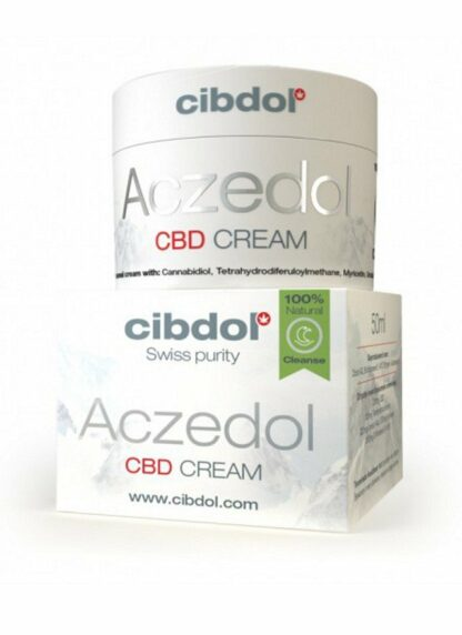 Cibdol Aczedol CBD Cream for Acne 50ml