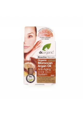 Dr.Organic Moroccan Argan Oil Anti-Ageing Stem Cell System 30ml