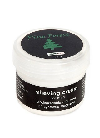 Earthsap Shaving Cream Pine Forest 125ml