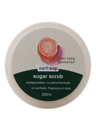 Earthsap Sugar Scrub Ruby Grapefruit 250ml