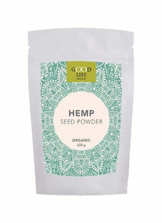 Good Life Organic Hemp Powder 30% Protein 200g