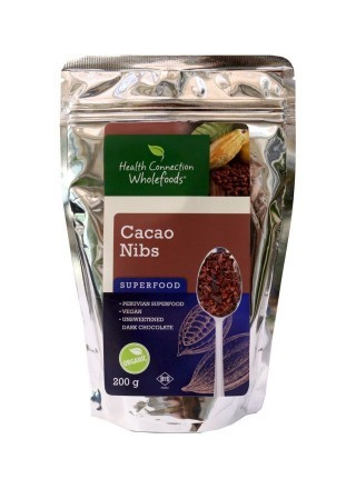 Health Connection Cacao Nibs Organic 200g