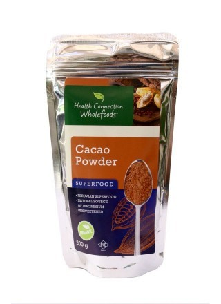 Health Connection Cacao Powder Organic 200g