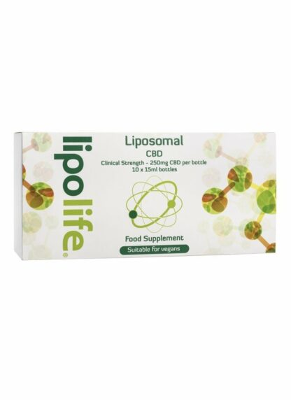 Lipolife Liposomal CBD Hemp 2500mg 10x15ml