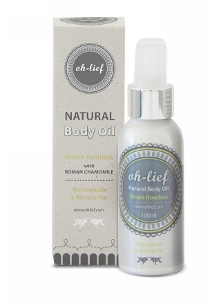 Oh-Lief Natural Olive Body Oil With Green Rooibos 100ml