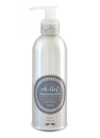 Oh-Lief Natural Olive Body Wash 200ml