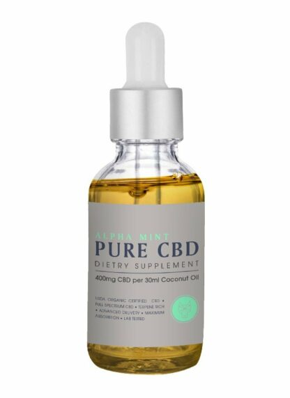 Cannaco CBD Oil Alpha Mint 400mg 30ml