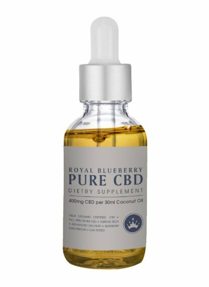Cannaco CBD Oil Royal Blueberry 400mg 30ml