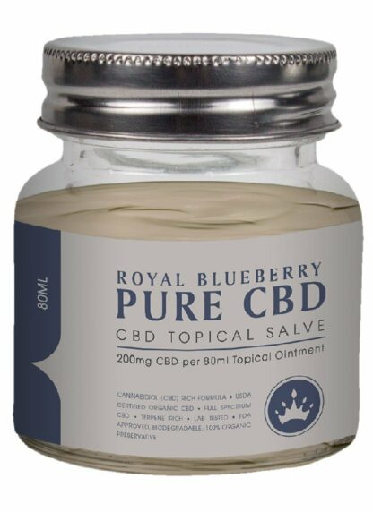 Cannaco CBD Topical Salve Royal Blueberry 200mg 80ml