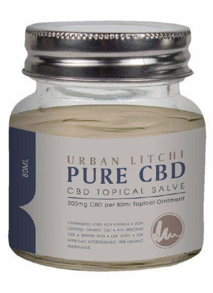 Cannaco CBD Topical Salve Urban Litchi 200mg 80ml