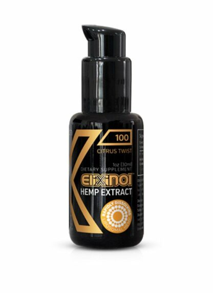 Elixinol CBD Hemp Liposomes Citrus Twist 100mg 30ml