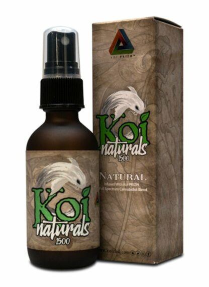 Koi Naturals CBD Oil Spray Natural Flavour 1500mg 60ml