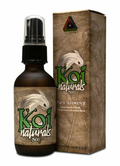 Koi Naturals CBD Oil Spray Spearmint 1500mg 60ml