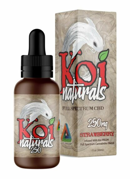Koi Naturals CBD Oil Strawberry 250mg 30ml