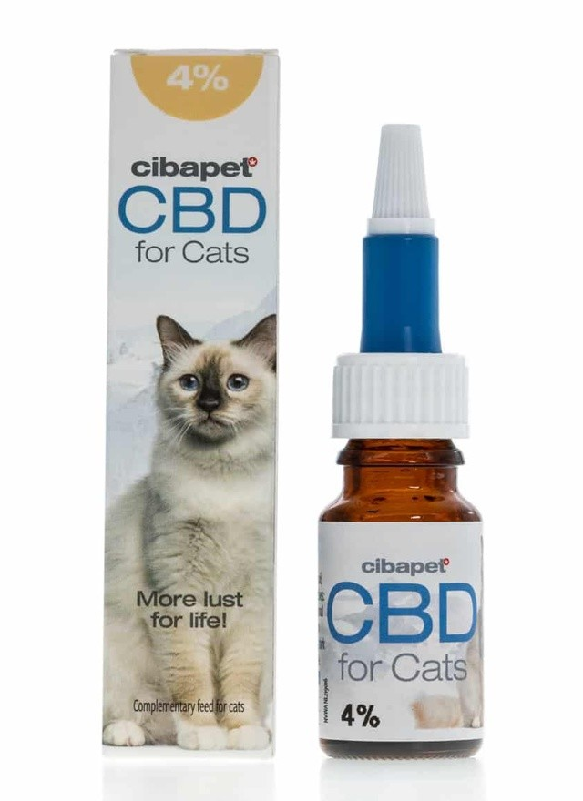 Cibapet CBD in Fish Oil For Cats 400mg 10ml